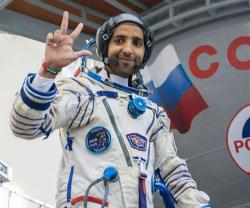 International Space Station Welcomes First Emirati Astronaut