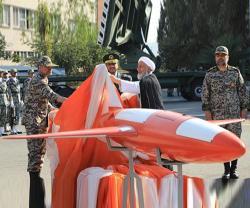 Iran Unveils New Combat Drone