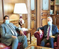 Italian Defense Minister, Leonardo's CEO Receive Qatar's Departing Ambassador