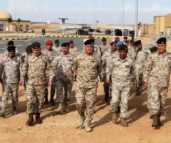 Jordanian Army Chief Visits Sheikh Mohammad bin Zayed Training City