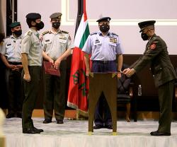 Jordanian Crown Prince Attends Military Graduation Ceremonies