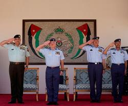 Jordanian King Attends Air Force Cadets Graduation
