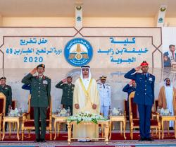Khalifa Bin Zayed Air College Holds Graduation Ceremony