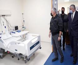 King of Jordan Opens Sheikh Mohamed bin Zayed Aqaba Field Hospital