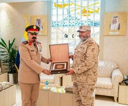 Kuwaiti Chief of General Staff Receives Acting Secretary General of IMCTC