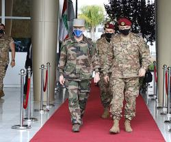 Lebanese Army Chief Receives Chief-of-Staff of French Army