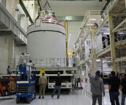 Lockheed Martin-Built Orion Spacecraft Ready for its Moon Mission