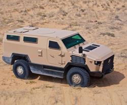 MLS Patents Falcon V-Hull Blast Protection System in UAE, Saudi Arabia