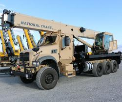Mack Defense Introduces 40T All-Terrain Crane at AUSA 2019