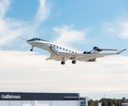 New Gulfstream G700 Makes First Flight