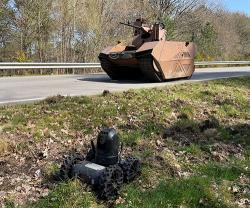 Nexter Partner of French Army for First Air-Land Robotics Day