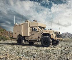 Oshkosh Defense Exhibits L-ATV Command, Control Capabilities at AUSA 2019