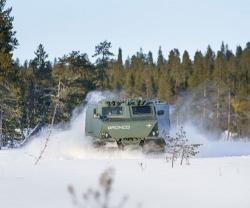 Oshkosh to Co-Produce U.S. Army's Cold Weather All-Terrain Vehicle Prototype