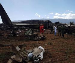 Over 250 Killed in Algerian Military Plane Crash