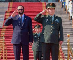 UAE, China Discuss Military Cooperation