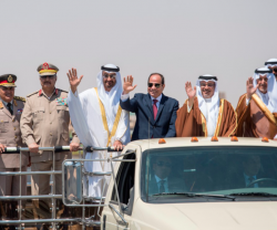 Egypt Inaugurates Mohamed Naguib Military Base