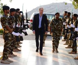 Prince Williams Visits Musandam Naval Base in Oman