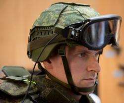 Rostec Presents Chameleon Helmet at Army 2018 Forum