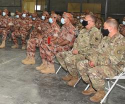 Royal Army of Oman, US Infantry Brigade Hold Joint Exercise