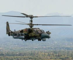 Russia's Upgraded Kamov Ka-52M Makes Debut Flight