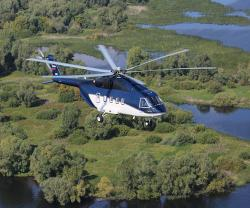 Russian Helicopters Debuts Newest Mi-38 at Dubai Airshow