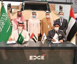 SAMI-NIMR Sign First Saudi-Emirati Military Industries Agreement