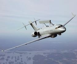 Saab Delivers Second GlobalEye to UAE