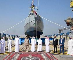 Saudi Arabia Launches First Home-Made Speed Interceptor Boat & Floating Dock