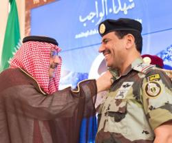 Saudi Crown Heir Decorates Two Lieutenant Generals