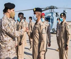 Saudi Navy Commander Launches Multi-Mission Helicopters (MH-60R)