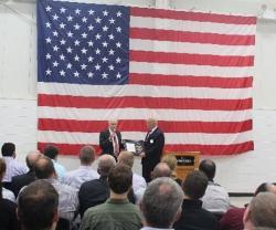 Secretary of U.S. Navy Awards Oshkosh Defense for JLTV Work