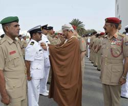 Sultan of Oman Confers 'Excellent Service' Medals on Officers