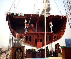Turkey Starts Construction of Third Warship for Pakistan Navy