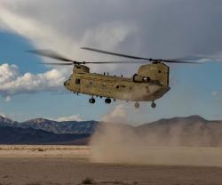 UAE to Receive 10 CH-47F Chinook Cargo Helicopters