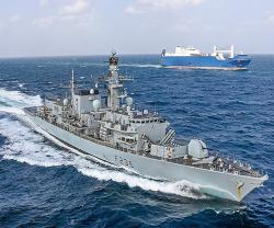 UK-Omani Ship Repair JV Completes HMS Montrose Maintenance in Oman