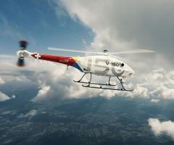 UMS SKELDAR Launches New V-150 VTOL Platform at UMEX 2020