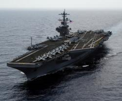 USS George H. W. Bush Arrives in Haifa, Israel