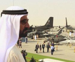 Up to 165 Aircraft on Display at Dubai Airshow