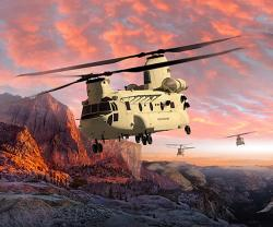 Boeing to Modernize Next-Generation Chinook Helicopter