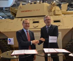 CMI Defence, Mecar Sign Ammunition Sales Agreement