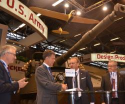 CMI Defence Unveils First UAV Integration in a Combat Turret