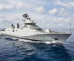 Damen Delivers 1st SIGMA 10514 PKR Frigate to Indonesia