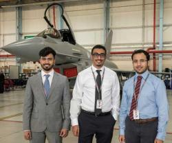 Emirati Interns Start Tech-Talent Program at BAE Systems