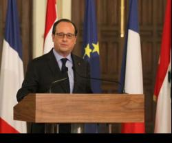 French President Pledges Military Support to Lebanon