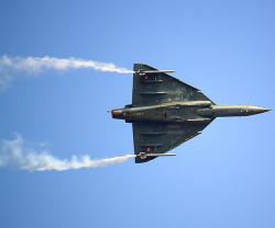 India's First Locally-Built Light Combat Aircraft Flies High