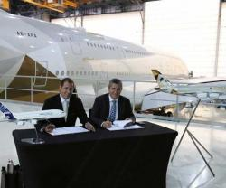Etihad Airways Engineering, Airbus Sign MRO MoU