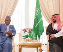 Saudi Defense Minister Receives Nigerian Counterpart
