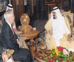 Saudi King & Gates Meet in Riyadh