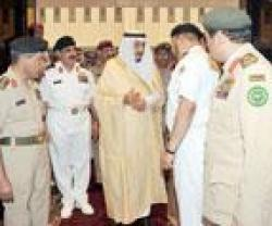 Prince Salman Visits Saudi Naval Forces Command