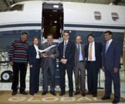 Arab Wings Takes Delivery of Global 5000 Jet
